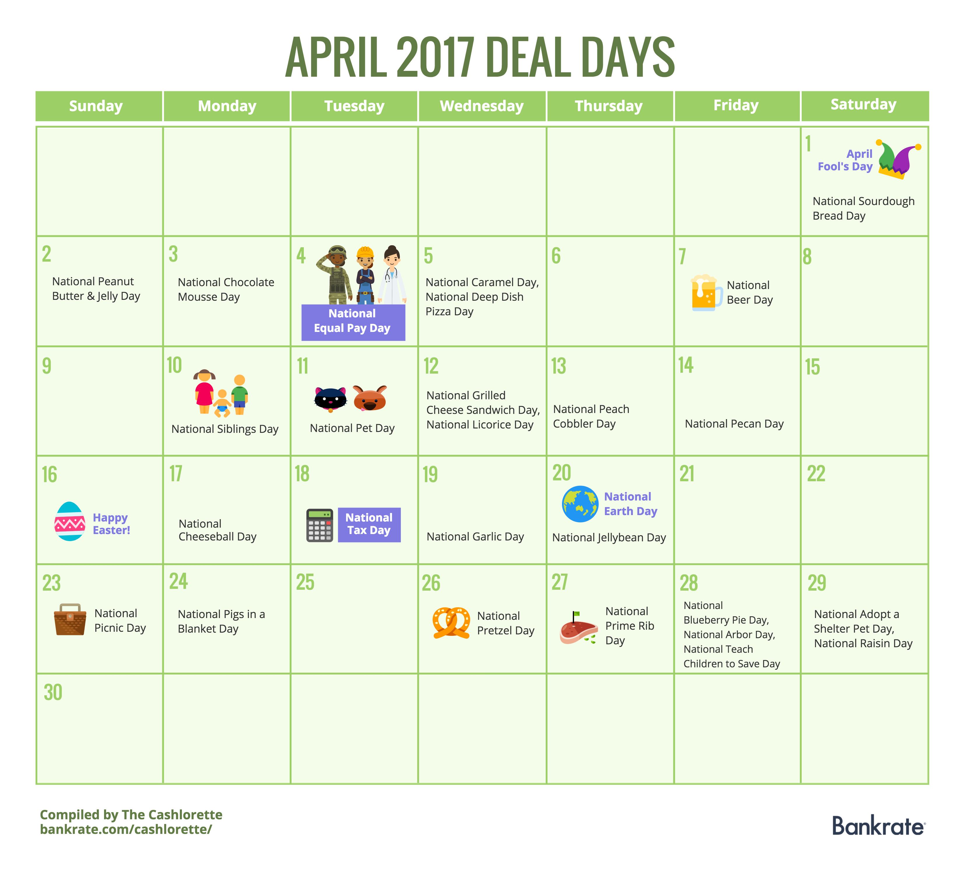 April Calendar Days : Genius money saving ideas you ve never thought of