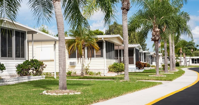 Mobile home parks not the cheap retirement dream for Cheap model homes