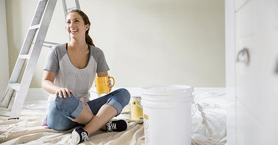 Rearrange and neutralize rooms | Hero Images/Getty Images