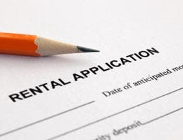 Leverage the rental application fee