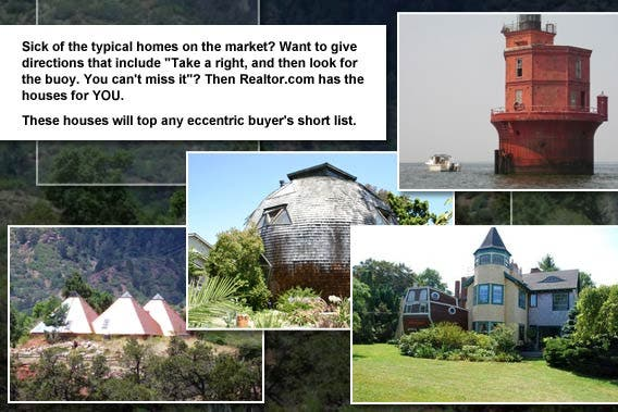 4 strange and unusual homes for sale