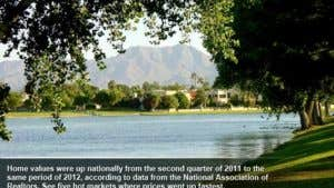 Home values: 5 best markets for Q2 2012