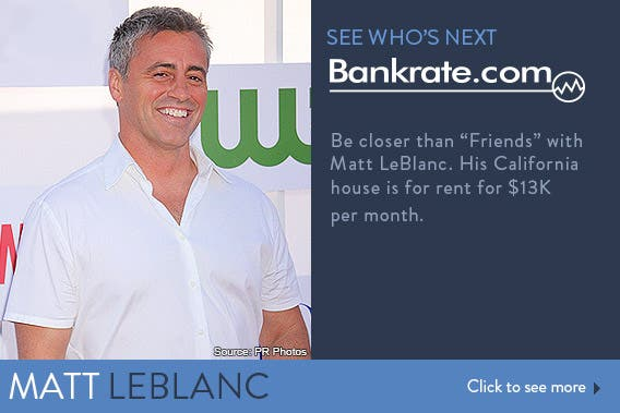 See who's next: Matt LeBlanc