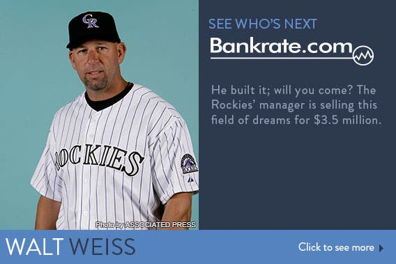 See who's next: Walt Weiss