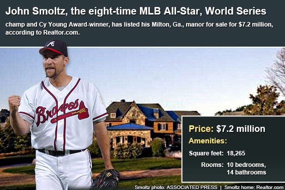 Celebrity house for sale: John Smoltz