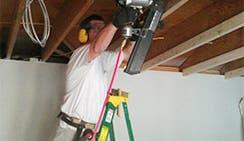 John Melton wiring for lighting