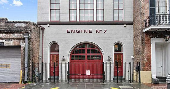 Vintage firehouse | Photo courtesy of Judith Oudt, Latter & Blum