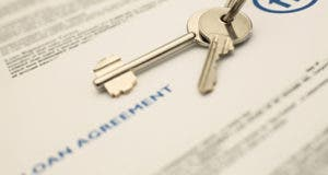 Loan agreement and house keys