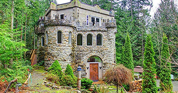 The Castle of Skagit County © Photo courtesy of Realtor.com
