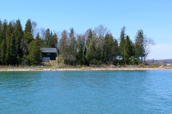 Picnic Island, Michigan   Photo courtesy of Rik Lobenherz, Berkshire Hathaway Home Services