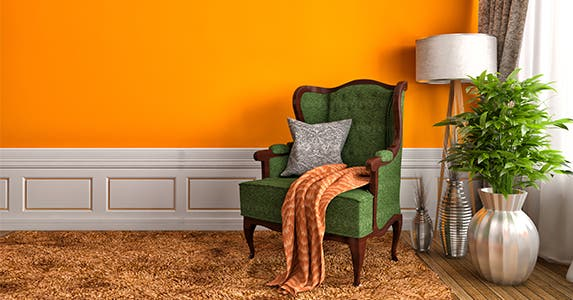 Orange | Interior Design/Shutterstock.com