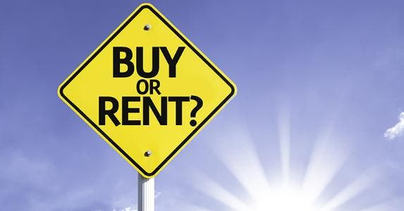 Lovely Buy Or Rent Sign © Gustavo Frazao/Shutterstock.com