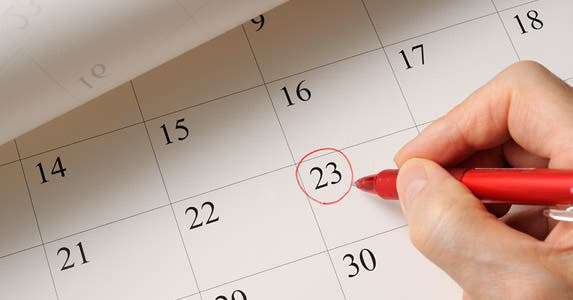 Setting an unrealistic timetable © iStock