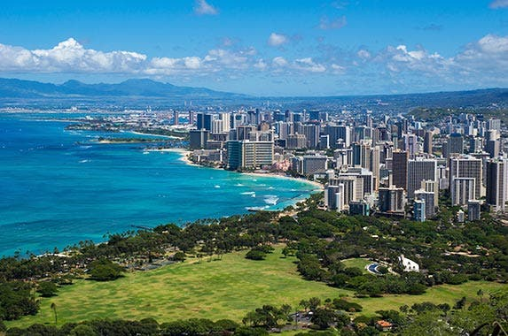 No. 9: Honolulu County, Hawaii © iStock