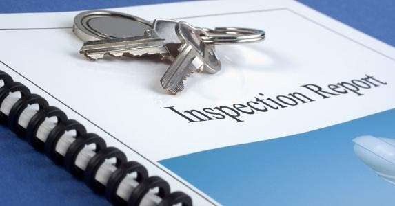 Inspection report © iStock