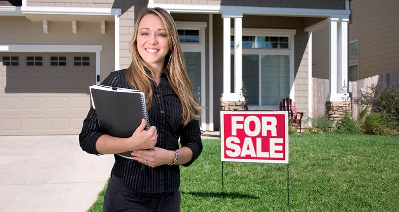 Ral Estate Brokers : A real estate salesman is an agent but for whom