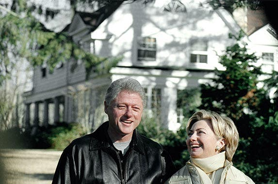 Hillary Clinton's Chappaqua, New York home | Chris Hondros/Getty Images