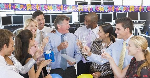 Retirement party for an employee © Monkey Business Images/Shutterstock.com