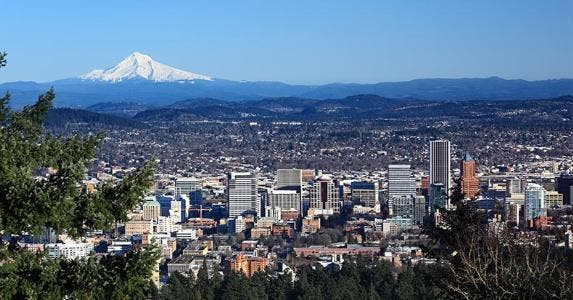 Portland, Oregon | David Birkbeck/Getty Images