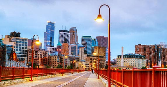 No. 5: Minneapolis-St. Paul © photo.ua/Shutterstock.com