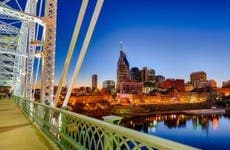 Nashville skyline at night © photo.ua/Shutterstock.com