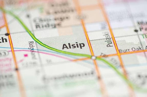 Alsip, Illinois © sevenMaps7/Shutterstock.com
