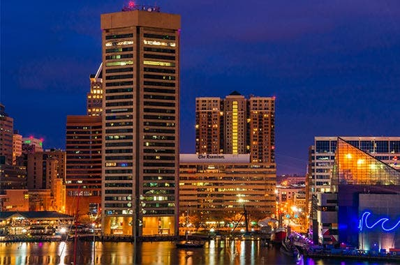 Baltimore, Maryland © ESB Professional/Shutterstock.com