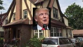 Check out Donald Trump's first home, on the market in Queens, New York