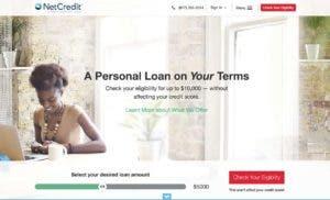 NetCredit personal loans