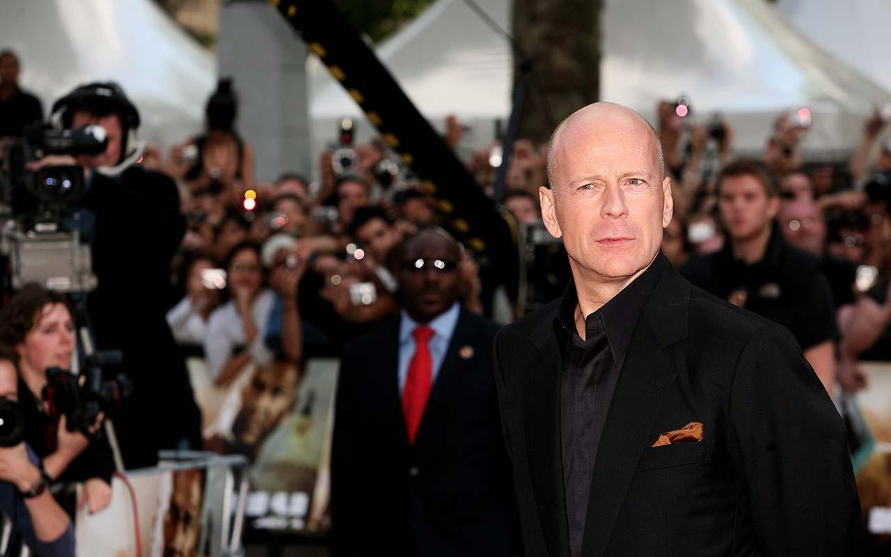 Bruce Willis at the Die Hard 4.0 Premiere