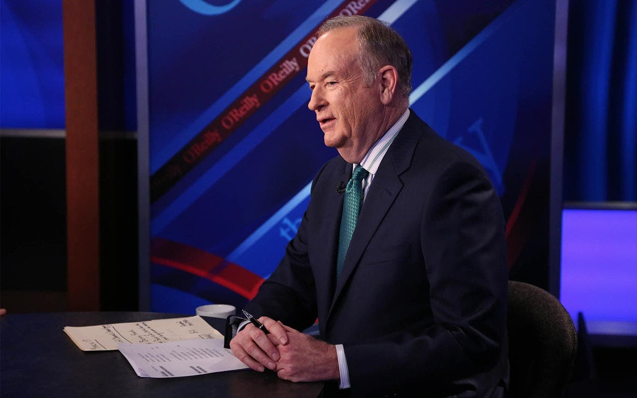 Bill O'Reilly hosted 'The O'Reilly Factor'