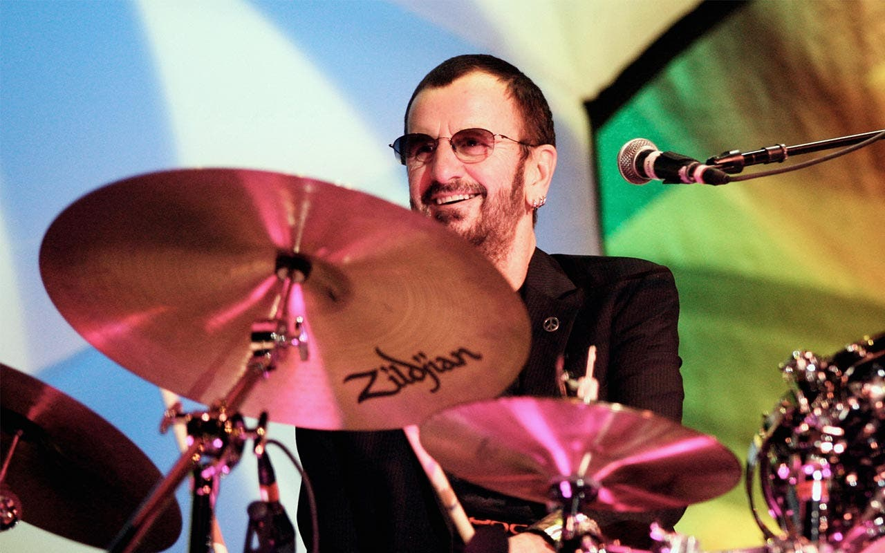 ringo starr plays drums mst