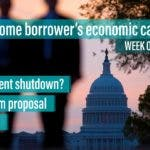 Home borrowers, look out for government shutdown