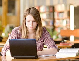 Encourage your teen to study hard © Ermolaev Alexander/Shutterstock.com