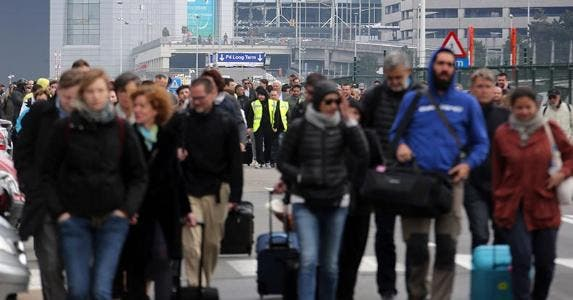 Brussels Airport rocked by explosions | Sylvain Lefevre/Getty Images