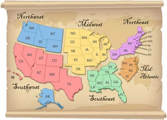 States with the highest insurance rates