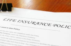 Life insurance policy © zimmytws/Shutterstock.com