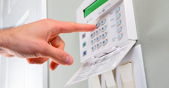 Install an advanced alarm system © SeanPavonePhoto/Shutterstock.com