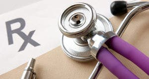 Stethoscope and prescription © sheff/Shutterstock.com