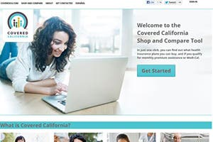 Covered California website