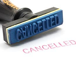 Coverage cancellations © vichie81/Shutterstock.com