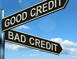 Has your credit score improved? © Stuart Miles/Shutterstock.com