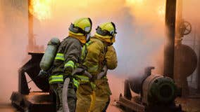 Insurance companies hire private firefighters