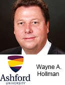 Wayne A. Hollman, Ashford University in San Diego