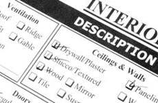Interior description form © Willee Cole / Fotolia