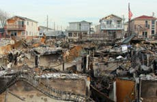 Burned houses, Hurricane Sandy aftermath © Leonard Zhukovsky/Shutterstock.com