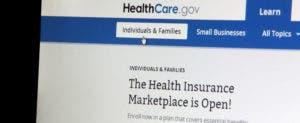 Healthcare.gov website home page © Northfoto/Shutterstock.com