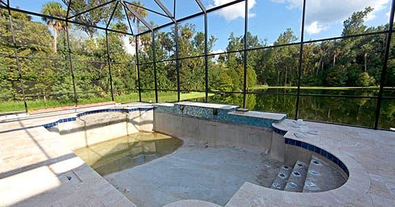 New pool © Lucy Clark/Shutterstock.com