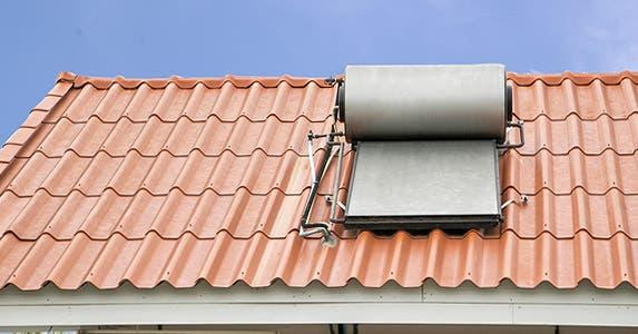 Solar H2O heater? A-OK! © JosjeN/Shutterstock.com