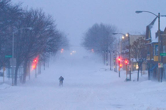 6. North American blizzard: Jan. 31-Feb. 3, 2011 © DARREN HAUCK/Reuters/Corbis
